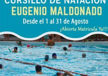 """CURSILLO DE NATACION """"EUGENIO MALDONADO"""""""