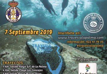 VI TRAVESIA A NADO ISLA DE LA PALMA A CELEBRARSE EL 7 DE SEPTIEMBRE 2019